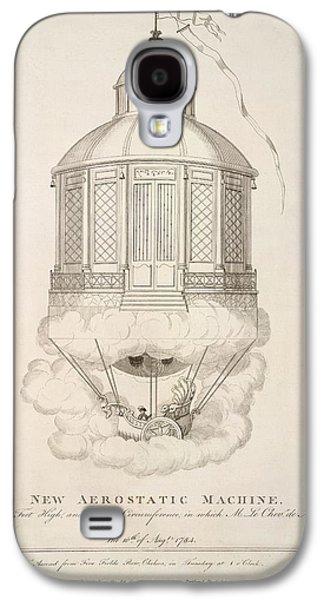 New Aerostatic Machine Galaxy S4 Case by British Library