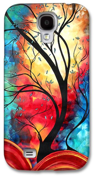 Bold Style Galaxy S4 Cases - New Beginnings Original Art by MADART Galaxy S4 Case by Megan Duncanson