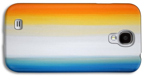 Color Block Galaxy S4 Cases - New Dawn - Abstract Art By Sharon Cummings Galaxy S4 Case by Sharon Cummings