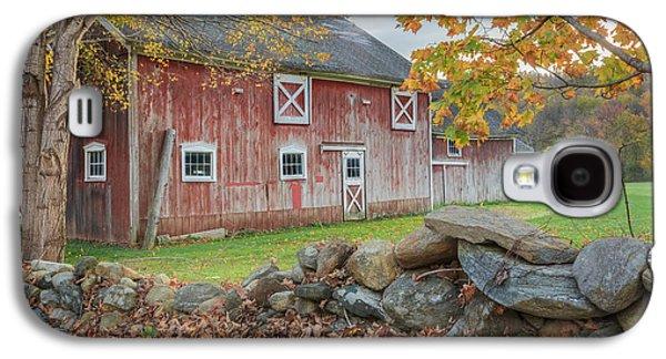 New England Barns Galaxy S4 Cases - New England Barn Galaxy S4 Case by Bill  Wakeley