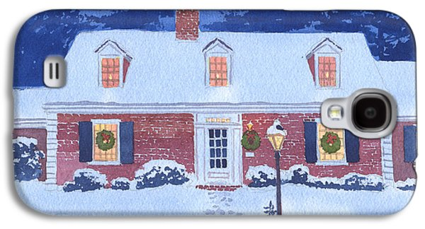 New England Galaxy S4 Cases - New England Christmas Galaxy S4 Case by Mary Helmreich