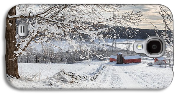 New England Winter Farms Galaxy S4 Case by Bill Wakeley