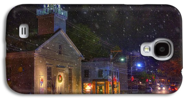New England Snow Scene Galaxy S4 Cases - New England Winter - Stowe Vermont Galaxy S4 Case by Joann Vitali