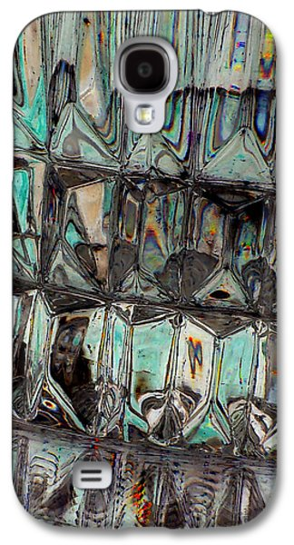 Abstract Jewelry Galaxy S4 Cases - New Glass Abstract 18 Galaxy S4 Case by B L Hickman