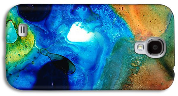 Abstract Art Canvas Paintings Galaxy S4 Cases - New Life - Abstract Landscape Art Galaxy S4 Case by Sharon Cummings