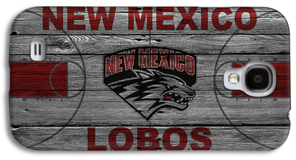 Dunk Galaxy S4 Cases - New Mexico Lobos Galaxy S4 Case by Joe Hamilton