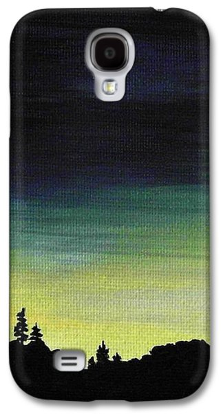 Fantasy Paintings Galaxy S4 Cases - New Moon Galaxy S4 Case by Anastasiya Malakhova