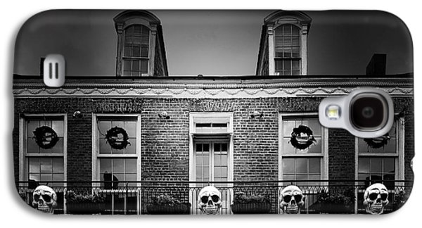 The Haunted House Galaxy S4 Cases - New Orleans- A Skull Paradise Galaxy S4 Case by Christine Till