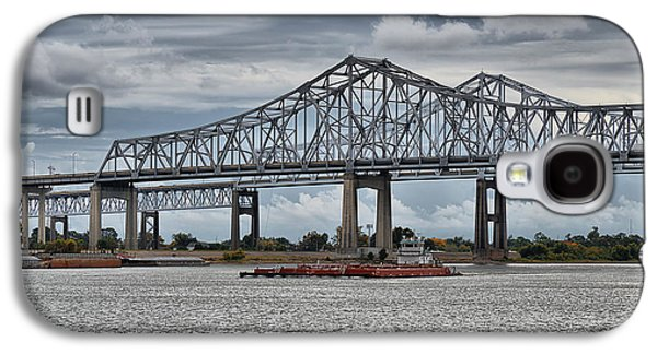 New Orleans Galaxy S4 Cases - New Orleans Crescent City Connection Bridge Galaxy S4 Case by Christine Till