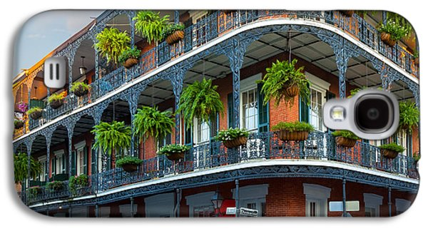Louisiana Photographs Galaxy S4 Cases - New Orleans House Galaxy S4 Case by Inge Johnsson