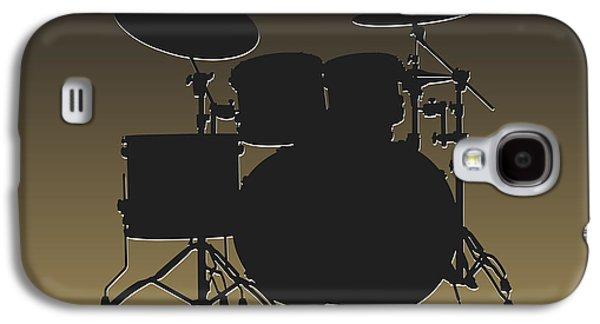 New Orleans Saints Drum Set Galaxy S4 Case by Joe Hamilton