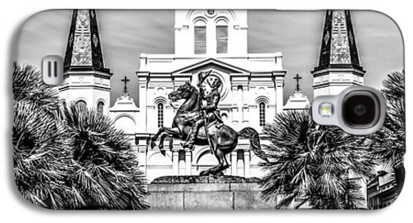 Religious Galaxy S4 Cases - New Orleans St. Louis Cathedral Panorama Photo Galaxy S4 Case by Paul Velgos