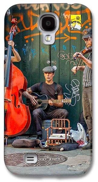 Steve Harrington Galaxy S4 Cases - New Orleans Street Musicians Galaxy S4 Case by Steve Harrington