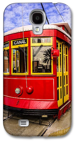 Louisiana Photographs Galaxy S4 Cases - New Orleans Streetcar  Galaxy S4 Case by Paul Velgos