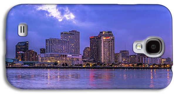 Captains Quarters Galaxy S4 Cases - New Orleans Sunset Galaxy S4 Case by David Morefield