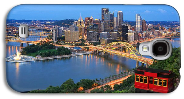 Pittsburgh Galaxy S4 Cases - New Pittsburgh  Galaxy S4 Case by Emmanuel Panagiotakis