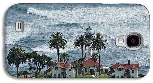 Carter House Galaxy S4 Cases - New Point Loma Lighthouse Galaxy S4 Case by See My  Photos