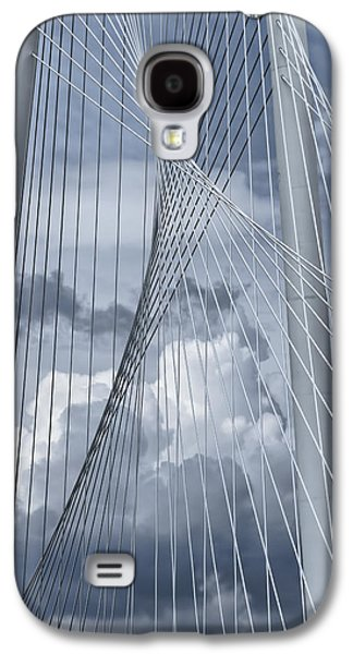 Connection Galaxy S4 Cases - New Skyline Bridge Galaxy S4 Case by Joan Carroll