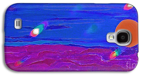 Mystical Landscape Mixed Media Galaxy S4 Cases - New Souls 2 Galaxy S4 Case by First Star Art
