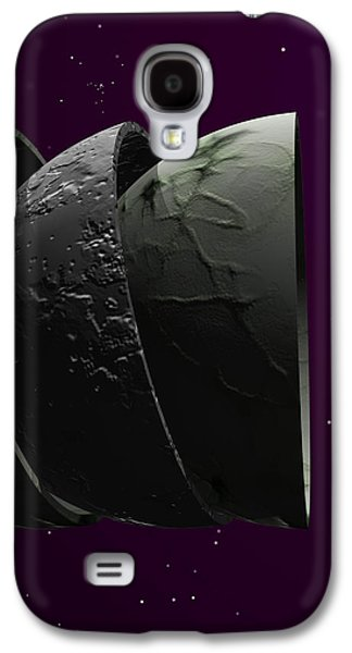 Abstract Landscape Galaxy S4 Cases - New World Order ...just Watch The News...religions Are Killing Us... Galaxy S4 Case by Sir Josef Putsche