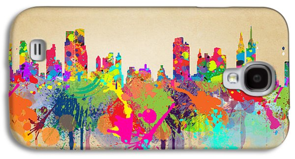 New York 5 Galaxy S4 Case by Mark Ashkenazi