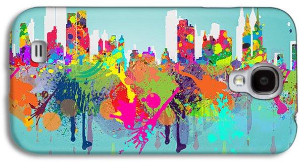 New York 7 Galaxy S4 Case by Mark Ashkenazi