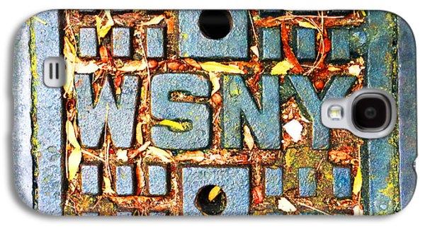 Interior Scene Mixed Media Galaxy S4 Cases - New York City Autumn Street Detail Photo Galaxy S4 Case by Tony Rubino