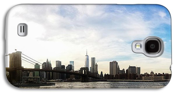 Waterscape Galaxy S4 Cases - New York City Bridges Galaxy S4 Case by Nicklas Gustafsson