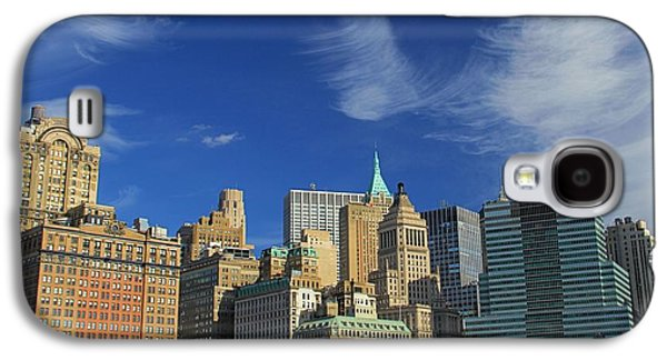 Person Galaxy S4 Cases - New York City From Central Park Galaxy S4 Case by Dan Sproul