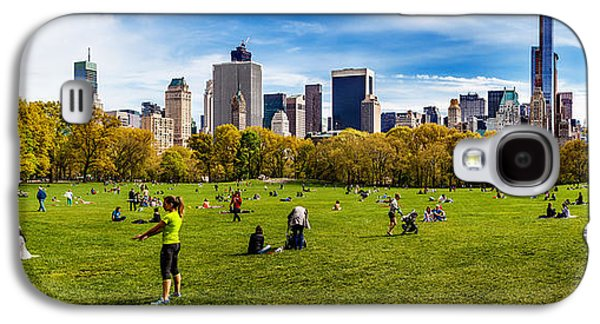Midtown Galaxy S4 Cases - Life in New York City Galaxy S4 Case by Az Jackson