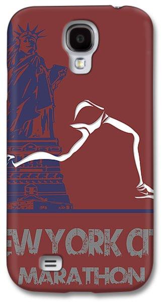 City. Boston Galaxy S4 Cases - New York City Marathon Galaxy S4 Case by Joe Hamilton