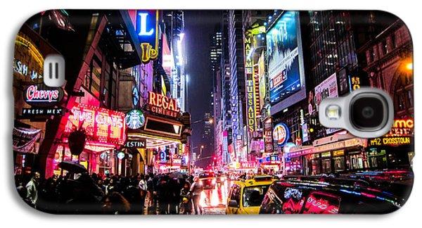 New York City Night Galaxy S4 Case by Nicklas Gustafsson
