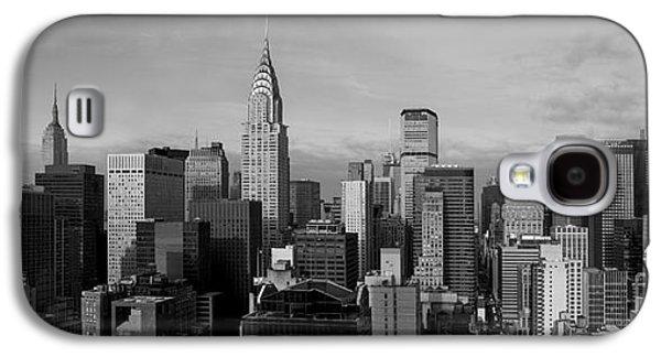 Skylines Photographs Galaxy S4 Cases - New York City Skyline Galaxy S4 Case by Diane Diederich