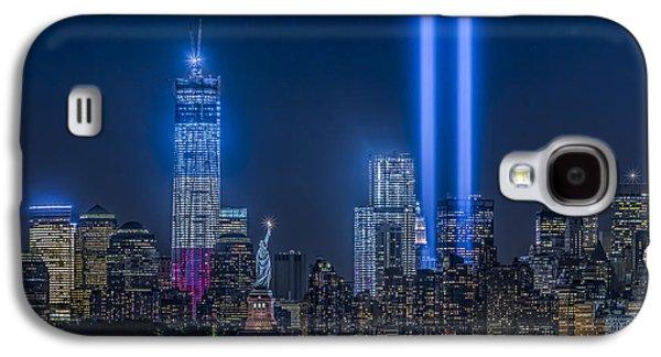 Susan Candelario Galaxy S4 Cases - New York City Tribute In Lights Galaxy S4 Case by Susan Candelario