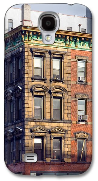East Village Galaxy S4 Cases - New York City - Windows - Old Charm Galaxy S4 Case by Gary Heller