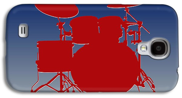 New York Giants Drum Set Galaxy S4 Case by Joe Hamilton