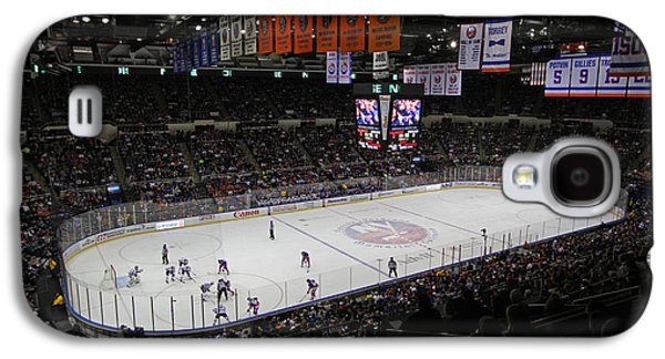 Veterans Stadium Galaxy S4 Cases - New York Islanders Galaxy S4 Case by Juergen Roth