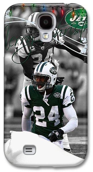 Jets Galaxy S4 Cases - New York Jets Christmas Card Galaxy S4 Case by Joe Hamilton