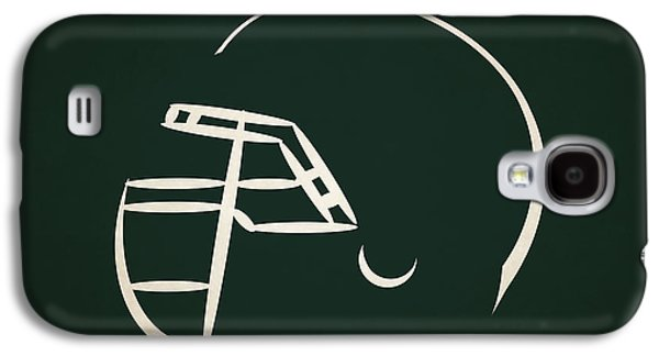 New York Jets Galaxy S4 Cases - New York Jets Helmet Galaxy S4 Case by Joe Hamilton