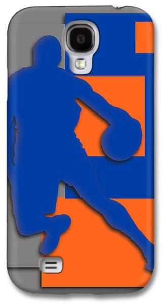 New York Knicks Art Galaxy S4 Case by Joe Hamilton
