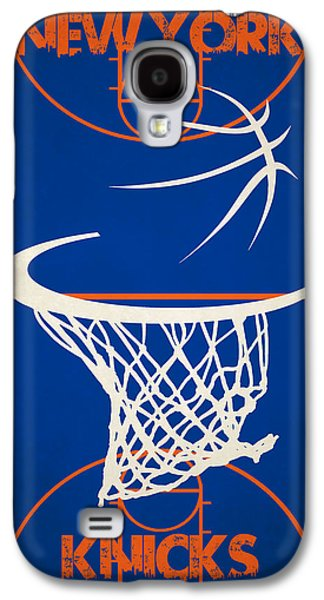 Recently Sold -  - Dunk Galaxy S4 Cases - New York Knicks Court Galaxy S4 Case by Joe Hamilton