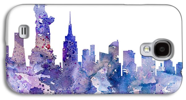 Statue Galaxy S4 Cases - New York Galaxy S4 Case by Luke and Slavi