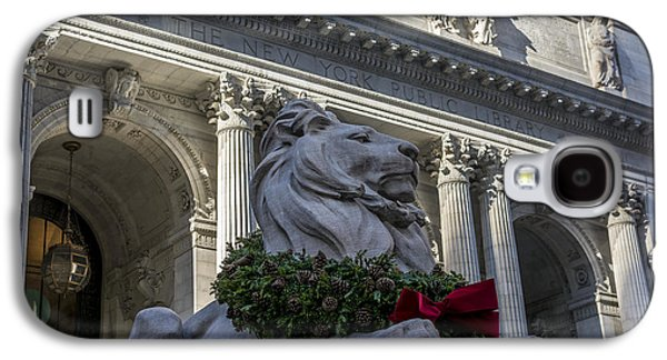 Bryant Park Galaxy S4 Cases - New York Public Library Galaxy S4 Case by David Morefield