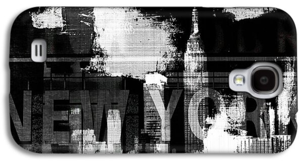 Surtex Licensing Galaxy S4 Cases - New York Skyline Collage  Galaxy S4 Case by Anahi DeCanio - ArtyZen Studios