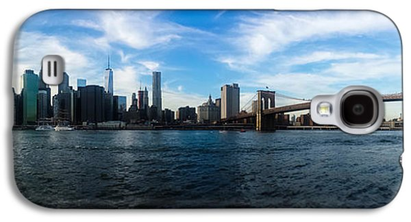 New York Skyline - Color Galaxy S4 Case by Nicklas Gustafsson