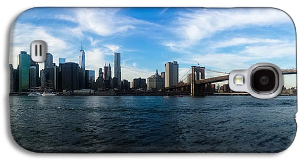 Trade Galaxy S4 Cases - New York Skyline - Color Galaxy S4 Case by Nicklas Gustafsson