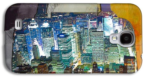 New York Skyline In A Handbag Galaxy S4 Case by Marvin Blaine