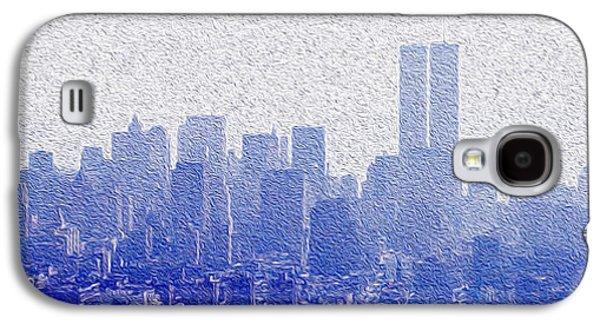 New York Skyline Galaxy S4 Case by Jon Neidert