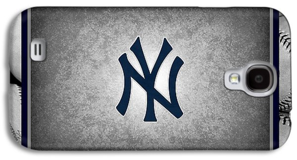 Base Galaxy S4 Cases - New York Yankees Galaxy S4 Case by Joe Hamilton