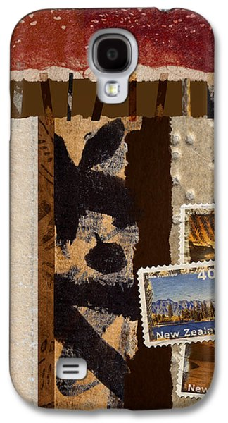 Postage Galaxy S4 Cases - New Zealand Galaxy S4 Case by Carol Leigh